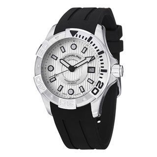 Stuhrling Original Men's Manta Ray Swiss Quartz Strap Strap Watch