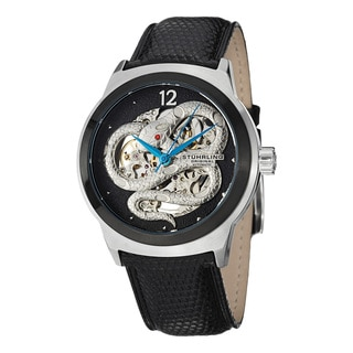 Stuhrling Original Men's Serpent Automatic Strap Strap Watch
