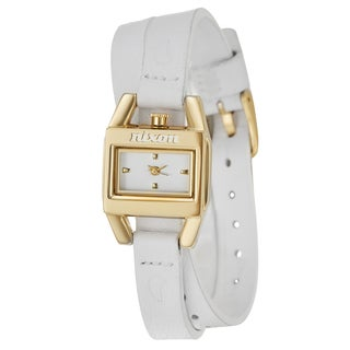 Nixon Women's 'The Vixon' Yellow Gold Plated Stainless Steel Watch