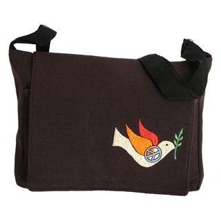 Jean Shoulder Bag and Peace Dove (Nepal)