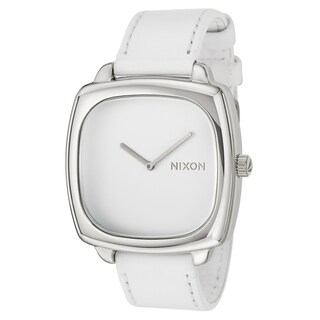 Nixon Women's 'The Shutter' White Stainless Steel Watch
