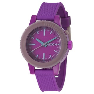 Nixon Women's 'The Gogo' Purple Polycarbonate Watch