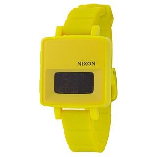 Nixon Women's 'The Trigital' Polycarbonate Alarm, Digital Watch