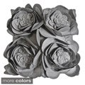 Rose Petals Down Fill Decorative Pillow