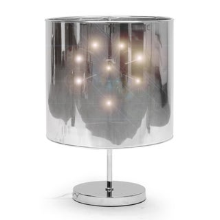 Baxton Studio Cassani Silver Modern Table Lamp