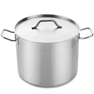 Professional Grade Stockpot with Lid