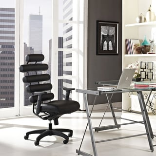 Black Pillow Office Chair