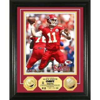 Kansas City Chiefs Alex Smith Gold Coin Photo Mint