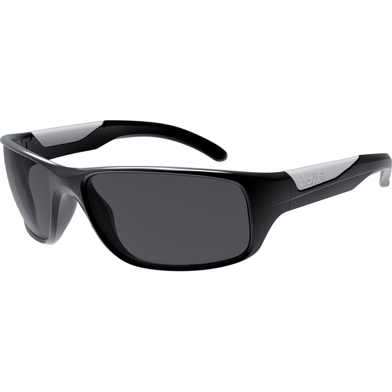 6320dc39944 Bolle Vibe Shiny Black Polarized Sunglasses on PopScreen