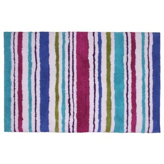 Carousel Stripe 24 x 36-inch Cotton Bathmat