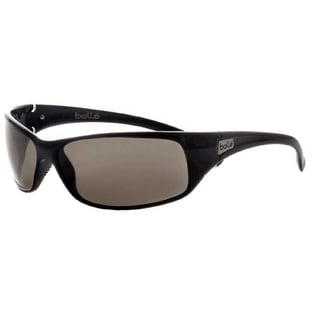Bolle Recoil Shiny Black/Polarized Gold Sunglasses
