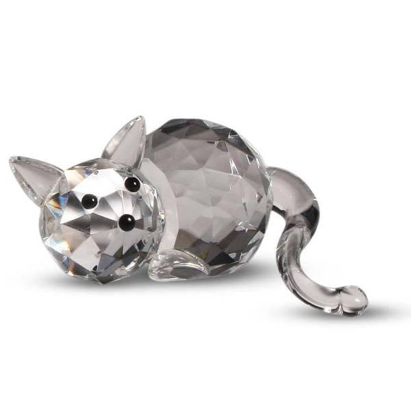 Crystal Florida Crystal Fatty Cat Figurine