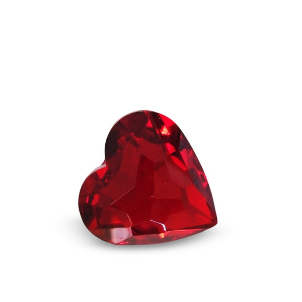 Crystal Florida Crystal 50 mm Red Heart
