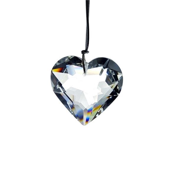 Crystal Florida Crystal Hanging Heart