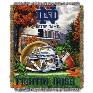 NCAA (Independent Sector) School Tapestry Throw