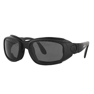 Bobster Men's 'Sport & Street' Black Convertible Sunglasses