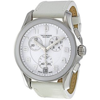 Victorinox Swiss Army Men's Stainless Steel Chronograph Watch