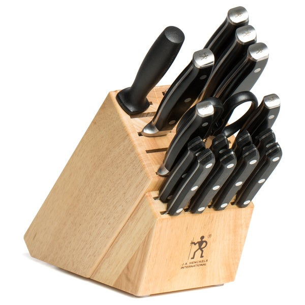 Zwilling J.A. Henckels Stainless Steel Forged Premio 17-piece Block Set