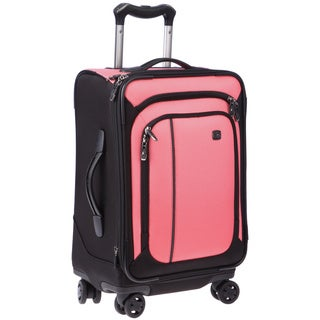 Victorinox Swiss Army Werks Traveler 4.0 Pink 20-inch Dual Caster Carry-on Spinner Upright
