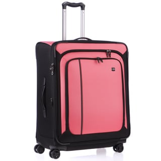 Victorinox Swiss Army Werks 4.0 Pink 27-inch Medium Dual Caster Spinner Upright Suitcase