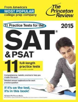 The Princeton Review 11 Practice Tests for the SAT & PSAT 2015 (Paperback)