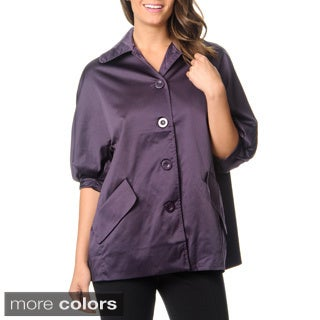 Newport News Women's Satin Fashion Jacket