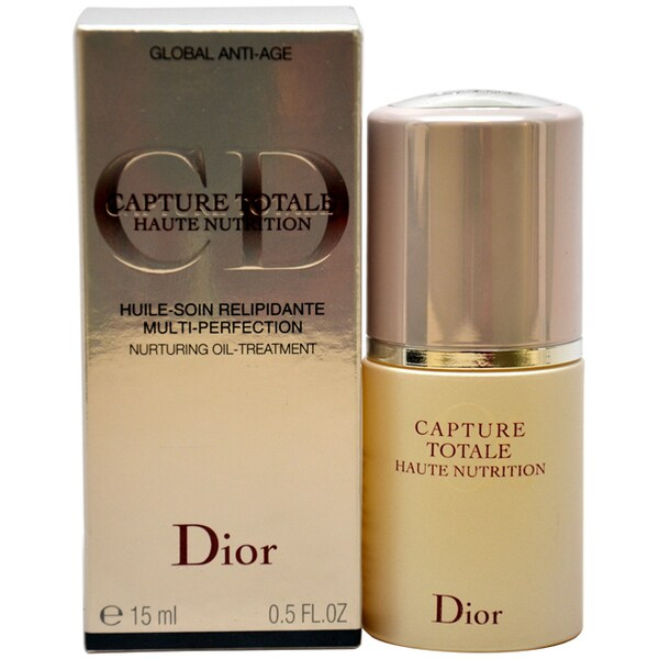 Christian Dior Capture Totale Multi-Perfection Nurturing 0.5-ounce Oil-Treatment