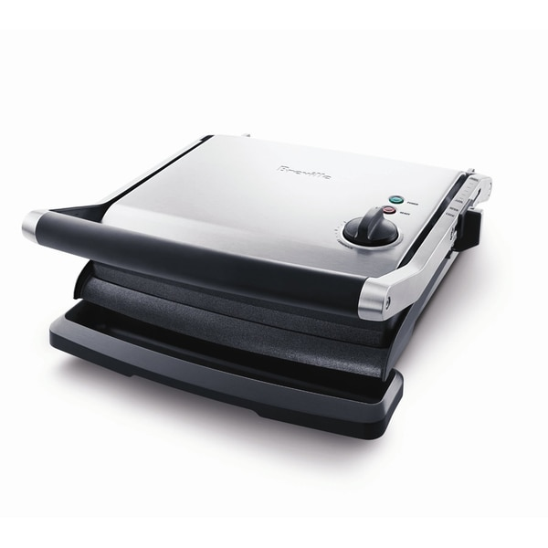 Breville BGR200XL Stainless Steel Variable Temperature Panini Grill