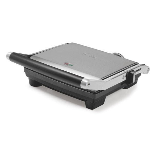 Breville BSG540XL Stainless Steel 4-slice Nonstick Panini Quattro