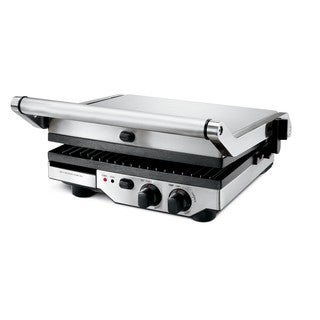 Breville BGR400XL Stainless Steel 1800-watt Ikon Removable-Plate Grill