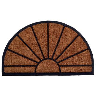 Outdoor Coconut Fiber Sun Door Mat (2'6 x 1'6)