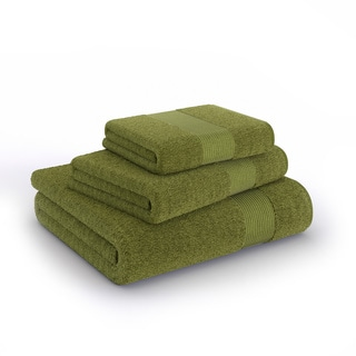 Soft Touch 3-piece Cotton Bath Towels Set