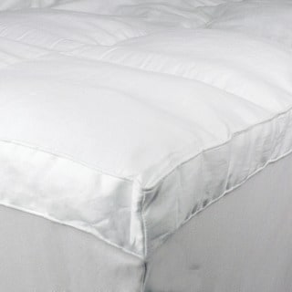 Serta Perfect Sleeper 100-percent Cotton Baffle Box Mattress Topper