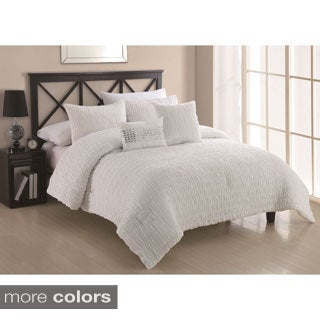 Empire 5-piece Textured Comforter Set
