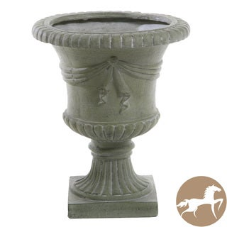 "Christopher Knight Home 20"" Antique Green Urn Planter"