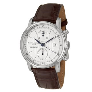 Baume and Mercier Men's 'Classima Executives' Stainless Steel Chronograph Watch