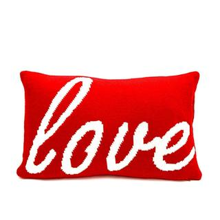 Simple Fun Love Poly-filled Throw Pillow