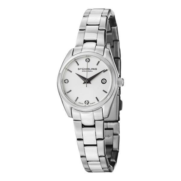Stuhrling Original Women's Lady Ascot Prime Swiss Quartz Bracelet Bracelet Watch