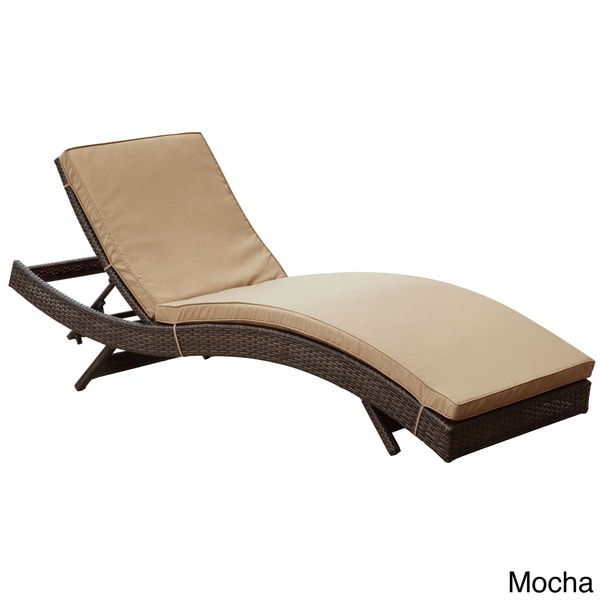 Modway peer outdoor patio chaise 15751135 overstock for Chaise youtubeur