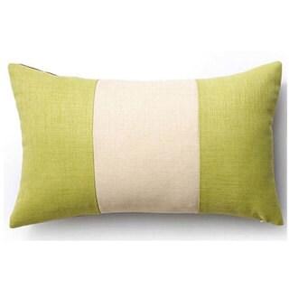 Celery and Cream Rebel Outdoor Throw Pillow
