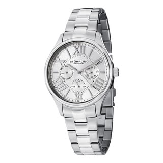 Stuhrling Original Women's Lady Majestic Silver Quartz Bracelet Watch