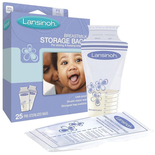 Lansinoh Breastmilk Storage Bag (25 count)
