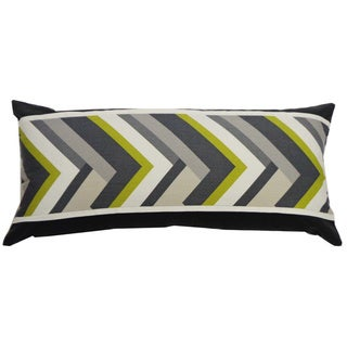Green Vince Throw Pillow