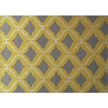 Hand-hooked Marrakesh Yellow Area Rug (7' x 10')