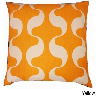 Onda Abstract Throw Pillow