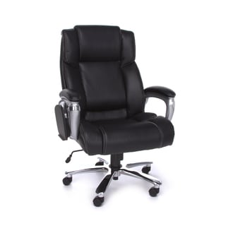 OFM Oro200 Executive BLK leather chair