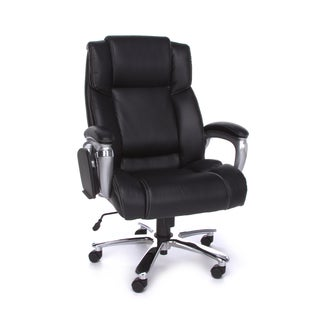 Oro200 Executive BLK leather chair