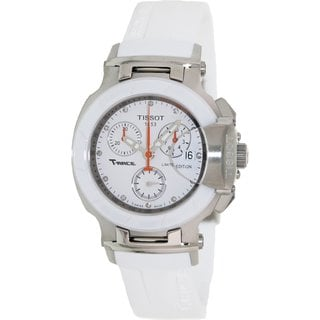 Tissot Womens T-race White Rubber Swiss Quartz Watch
