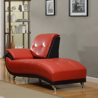 leather chaise lounge chair office furniture living room new ebay