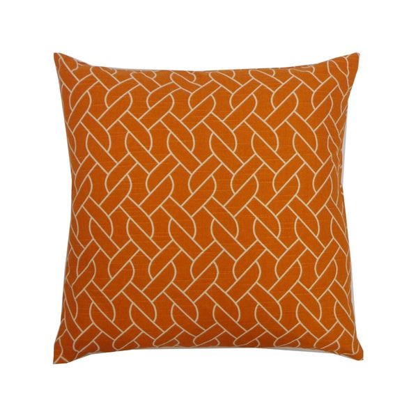 Rope Print Throw Pillow